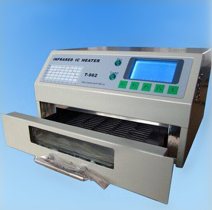 Drawers Type Single Reflow Oven LD-962, Model No.: T962, For Pcbs, Leds Soldering