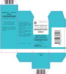 Aminohippurete Injection