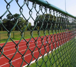 Pvc Coated Chain Link Mesh Fence Polyvinyl Chloride