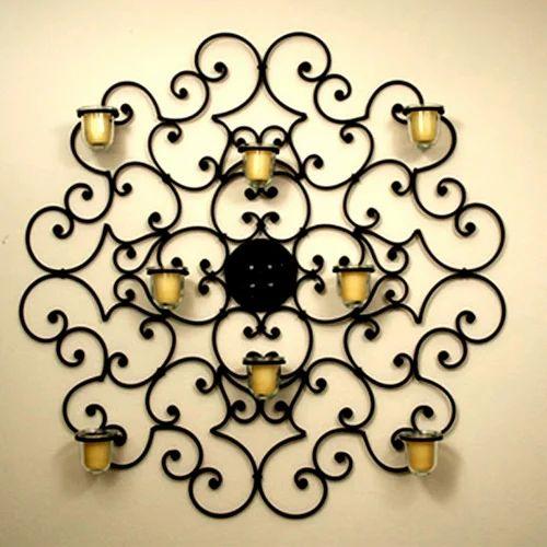 wrought iron decorative items at rs 100 piece lohe ka sajavati