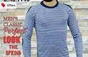 Blue Full Sleeves T Shirt