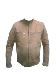 Real Leather Full Sleeve Jackets with SGS Lab Tests