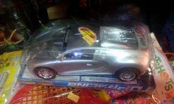 Silver Sports Toy Car