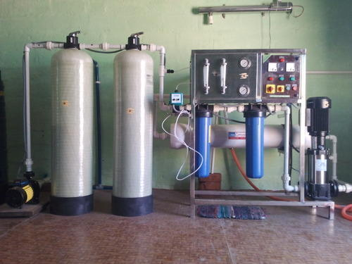 Manual Ro Water Plant 1000 Lph Number Of Filtration