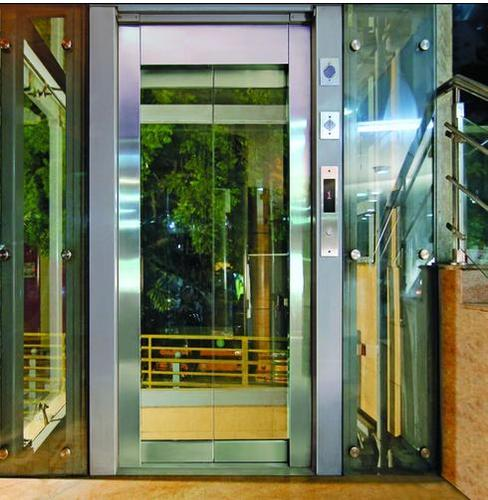 Framed Glass Door Lift At Rs 600000 Pieces Glass Elevator Id