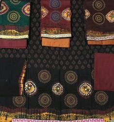 Hand Work Kutchi Dress Material