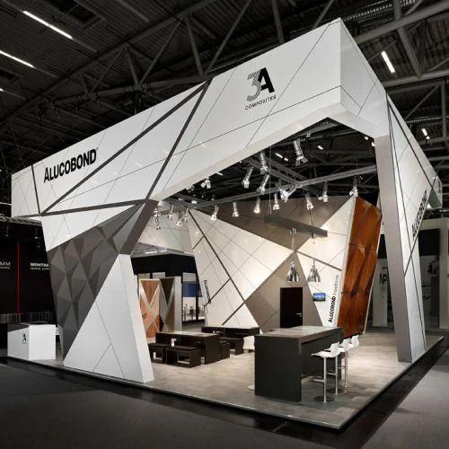 Modern Exhibition Stall Design : Modern exhibition stall designing service in kandivali west mumbai