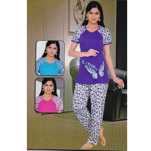 Cotton Night Suit - Fancy Cotton Night Suit Manufacturer from Ahmedabad b162cf062