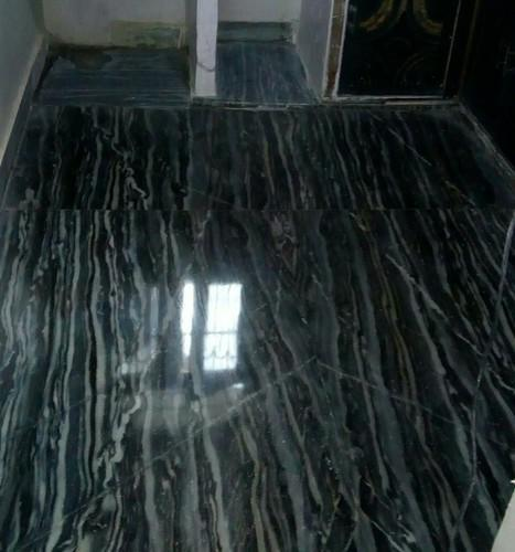 Black Marble Floor Cleaning Service in Delhi, SR Polishing