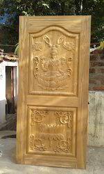 Teak Wood Carving Door