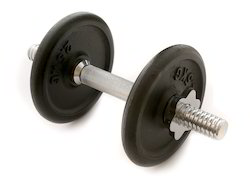 cast iron Dumbbell, Adjustable weight, weight : 2.5 kg