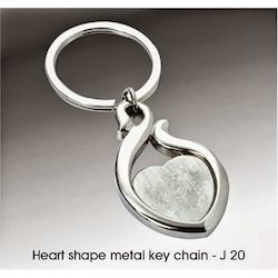 Heart Shaped Keyring