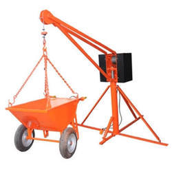 Mini Concrete Mixer with Lift