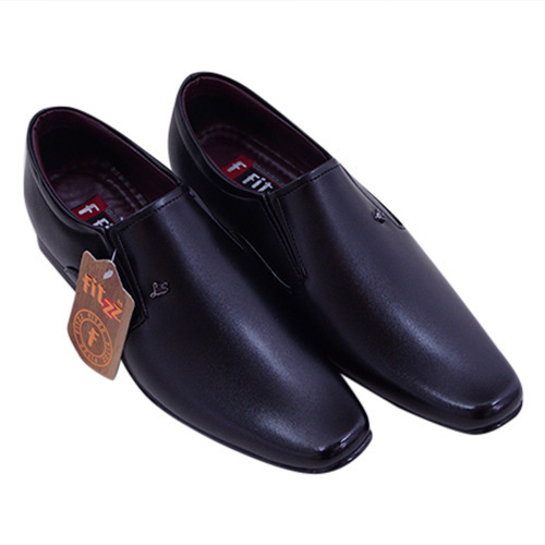 Black, Brown Mens Formal Shoes Without