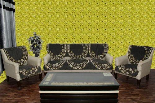 Chenille Sofa Cover I 20grey