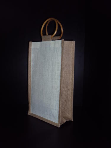 2 Bottle Jute Bag