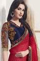 Designer Colored Saree