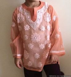 Hand Embroidery Girls Top