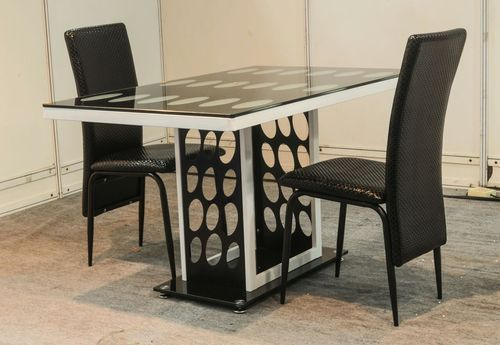 Fully Glass Dining Table With Four Chairs Glass Dining Room Table