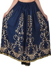 Jaipuri Long Rayon  Skirts
