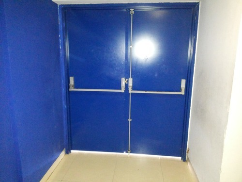 3 Point Panic Bar for Double Leaf Emergency Exit Door & 3 Point Panic Bar For Double Leaf Emergency Exit Door at Rs 11500 ...
