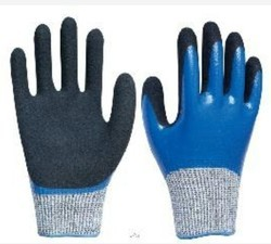SHOWA 377 NIRILE SANDY DOUBLE COATED GLOVES