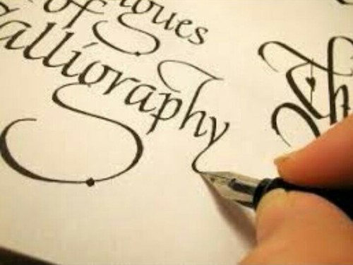 Calligraphy Writing For Improving English