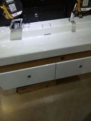 Terrace Wooden Cabinet White