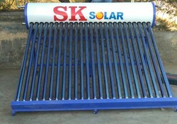 One Hundred Liter Solar Heater