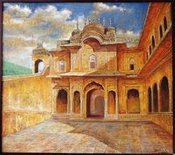 Tiger Fort Painting