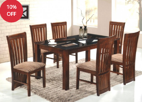 anji 7 piece dining set at rs 38870 set ड इन ग स ट
