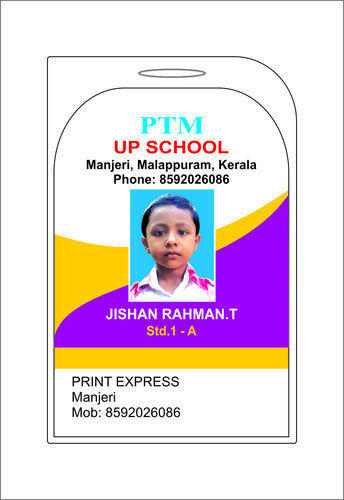Print Express  Service Provider Of School Id Card Printing