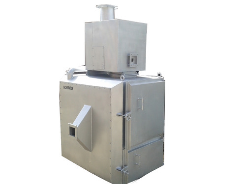 Automatic Incinerator for Hospital, Capacity: 0-10 kg/hr