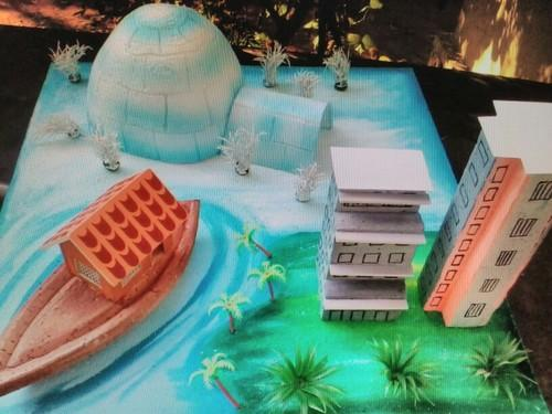 school model - Types Of Houses School Model Project Manufacturer