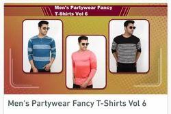 Printed Men's Party Wear Fancy Tshirts