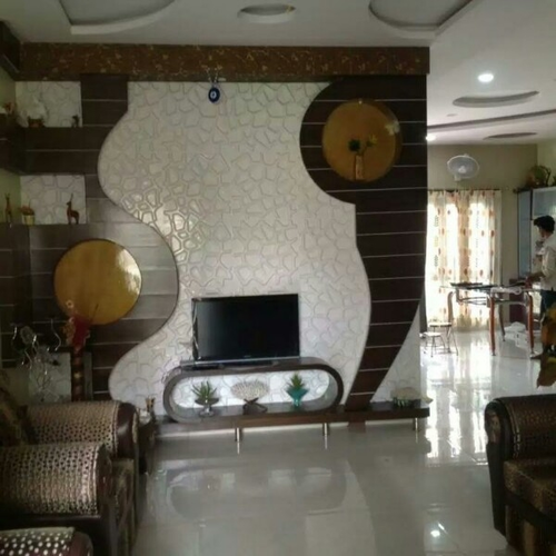Living Room Designs Hyderabad innovative ideas - service provider of fall ceiling designing