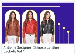 Aaliyah Designer Chinese Leather Jackets
