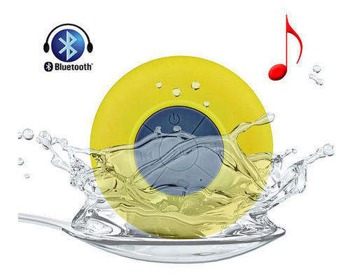 Waterproof Bluetooth Shower Speaker with Suction Cup