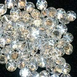 Round Vvs1, Vvs2, Si1, Si2 Natural Polished Diamond