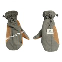 Bestmounttents Canvas Army Mittens