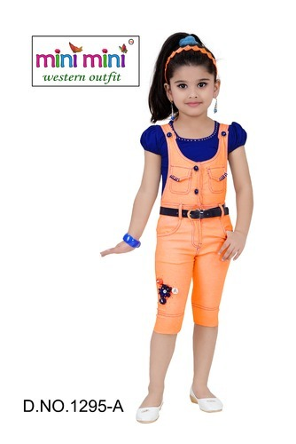 8376f61eb2051 Designer Kids Dangri Set, Children Dresses, Kids Clothes - Kids Mini ...