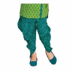 Women Printed Cowl Pants