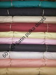 Satin Shirting Fabric