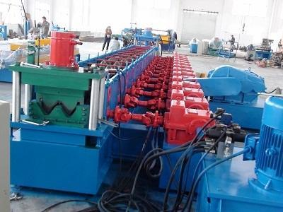 Highway Guardrail Machines - Highway Guardrail Roll Forming Machine