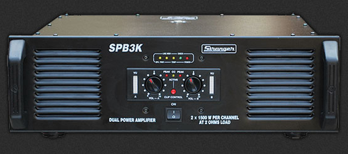 Dual Channel Power Amplifier - 2500 Dual Channel Power Amplifier