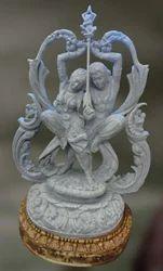 Abhidhyaa The Desire (Stone & Wood Sculpture)