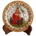 Multicolor Marble Handicraft Plate