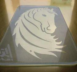 Natural, Transparent Glass Art