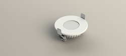 3w Round Backlit Panel Light Housing