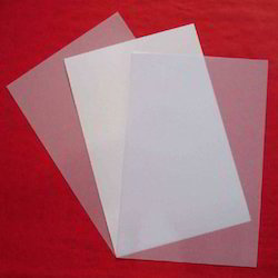 inkjet white glossy pet sheet